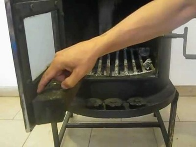 Home made wood stove and secondary combustion