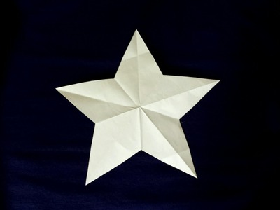 How to cut a Perfect Star in One Snip!