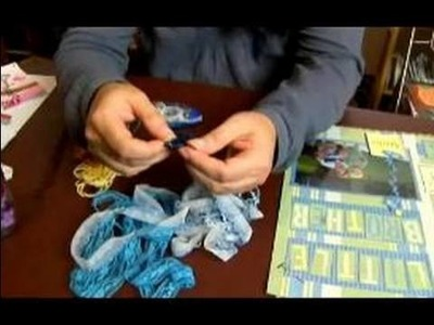How to Do Scrapbooking with Non-Traditional Items : Sewing in Scrapbooking