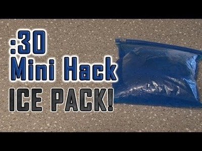 How to Make a DIY ICE PACK!