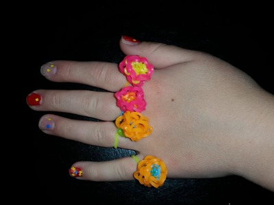 How to make a Hexafish Flower Ring using a Monster Tail.