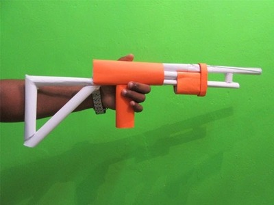How to make a Paper Gun that shoots 3 rubber bands - Easy Tutorials
