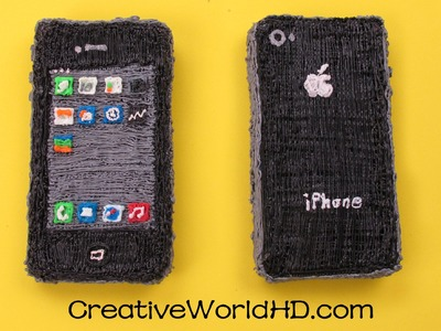 How to Make iPhone.Phone Charm - 3D Printing Pen Creations.Scribbler DIY Tutorial