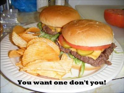 How To Make Waffle Burgers