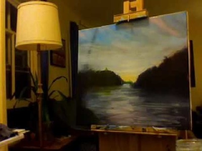How to paint a Chenango Valley evening