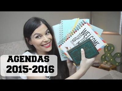 Ideas Agendas 2015-2016 (Mr Wonderful, Superbritánico, UO, Paperblanks. )  Paula Deiros