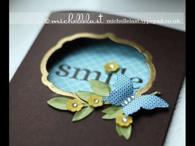 Independent Stampin Up UK Demo Michelle Last Create embossed borders with with framelits