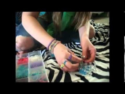 Infinity Ring Rainbow loom tutorial!!
