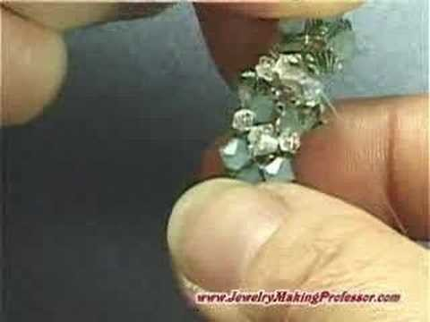 Jewelry Making Video Tutorial - Tassle Ball Ring Preview