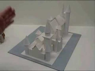 Make a paper Castle (Neuschwanstein)