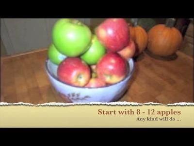 Making Homemade Apple Cider Vinegar For Pennies!