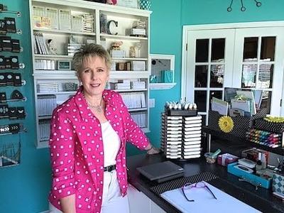 My IKEA Craft Room Tour by Connie Stewart