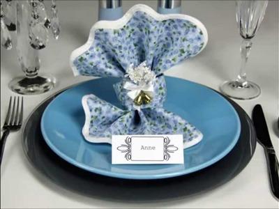 Napkin Folding -  Wedding Knot