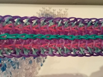 NEW! Lacette Bracelet on the Rainbow Loom