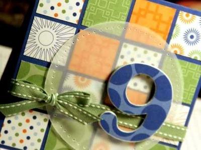 Nine - Make a Card Monday #37