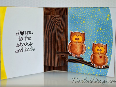 Owl Pop Up Card