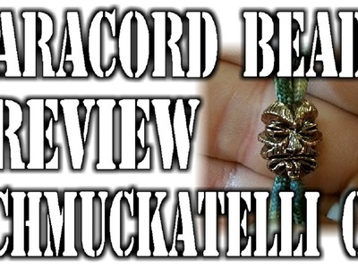 Paracord Bead Review From Schmuckatelli Co.