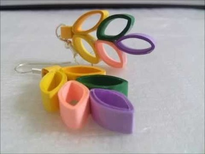 Quilling Paper Jewelry Designs, Paper Jewellery Making, Earrings and Necklaces