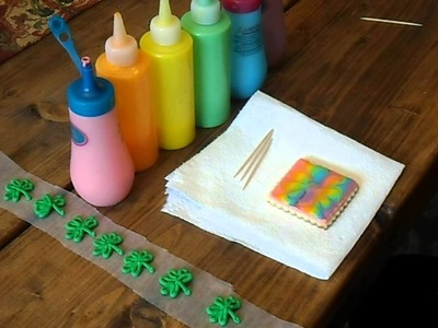 Rainbow cookie tutorial