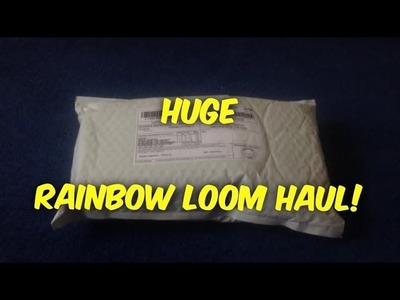 RAINBOW LOOM HAUL FROM WEBSTORE!