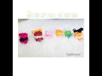 Rainbow loom mini puffy macaron part 1