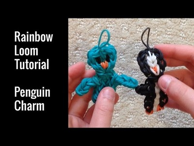 Rainbow Loom Tutorial - Penguin Charm | Bethany G