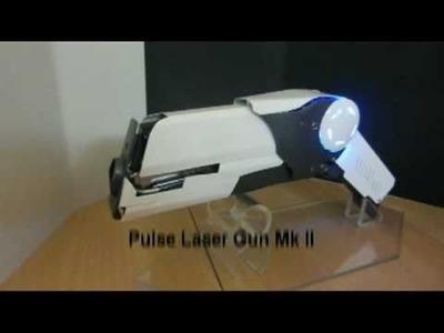 Selfmade MegaWatt Pulse Laser Gun