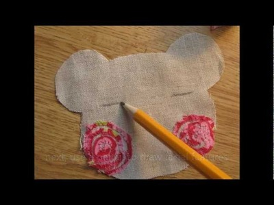 Simple Bear Plush Tutorial