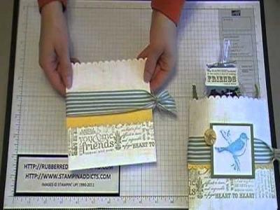 Stampin' Up! Tutorial~F24-7 Envelope Treat Holder.MOD