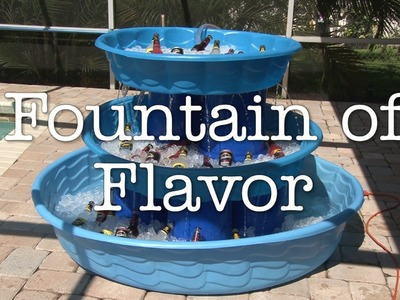 The Fountain of Flavor!