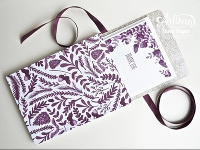 Wallet of Cards using For All Things from Stampin' Up