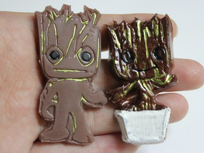 Watch Me Resin: Groot & Baby Groot ft. RockStarHottie Molds