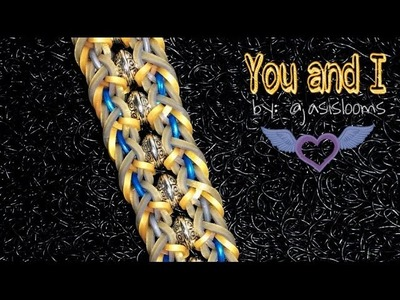 YOU AND I Hook Only bracelet tutorial