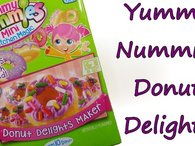 Yummy Nummies Donut Delights Maker Overview by feelinspiffy