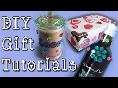 3 Cute DIY Gift Tutorials