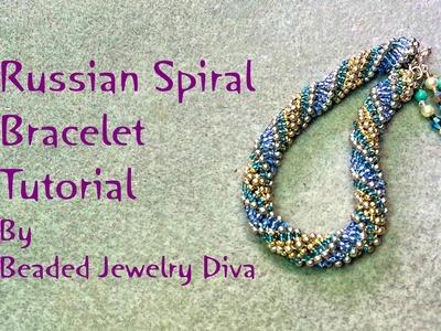 Beading Tutorial Russian Spiral Tutorial - Russian Spiral Bracelet