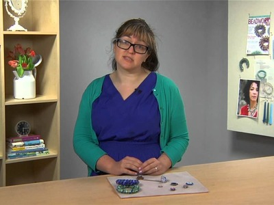 Beadwork Designer of the Year Series: Bead Stitching Pentagons with Jean Power