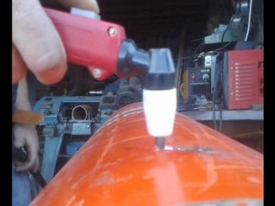 Build a Rocket Stove using a propane tank
