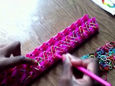 Crazy loom bracelet bead add on
