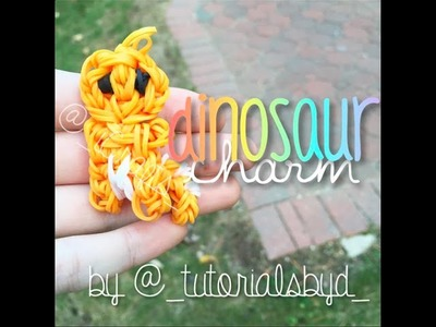 Cute Baby Dino Figurine | Rainbow Loom Tutorial | How To