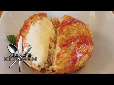 DEEP FRIED ICE CREAM - VIDEO RECIPE
