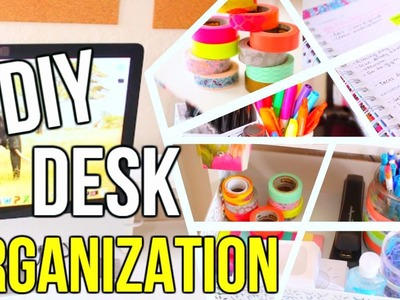 DIY Back to School Desk Organization + School Supply Haul #NewGearFeeling | Courtney Lundquist