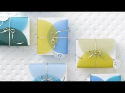DIY Double-Dot Favor Packaging - Martha Stewart Weddings