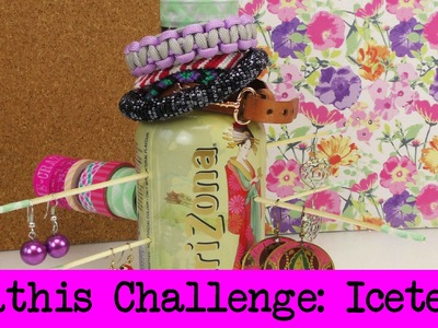DIY Inspiration Challenge #23 Arizona Icetea Flaschen | Kathis Challenge | Tutorial - Do it yourself