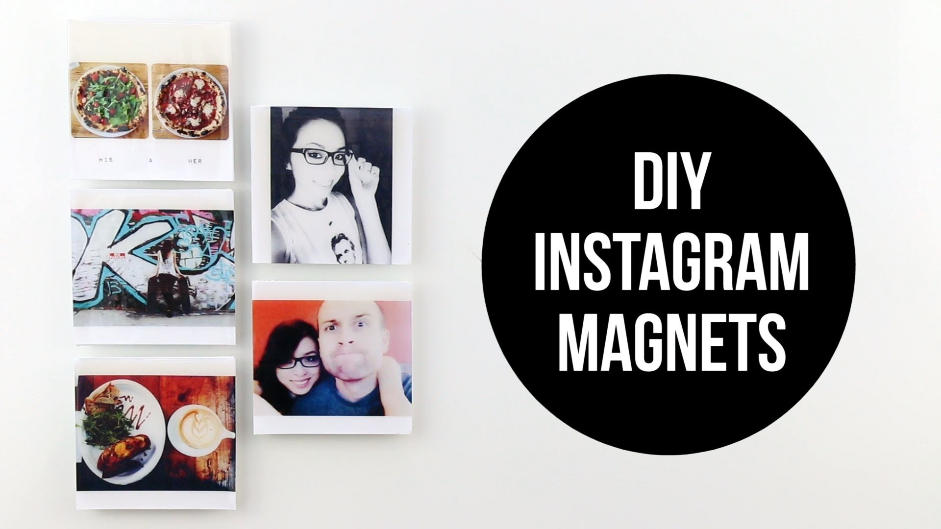 DIY INSTAGRAM MAGNETS | cathydiep