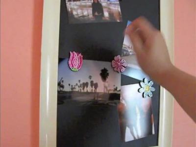 DIY: Magnetic Chalk Board