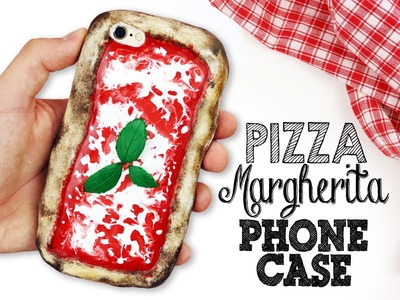 DIY | Pizza Margherita Phone Case Tutorial