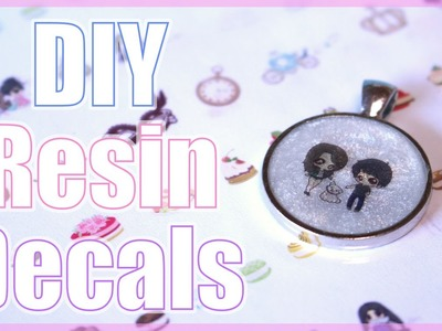 DIY Resin Decal Tutorial