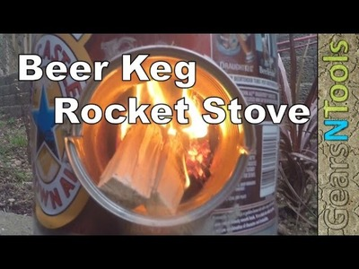 DIY The Beer Keg Rocket Stove The Coolest Stove on YouTube