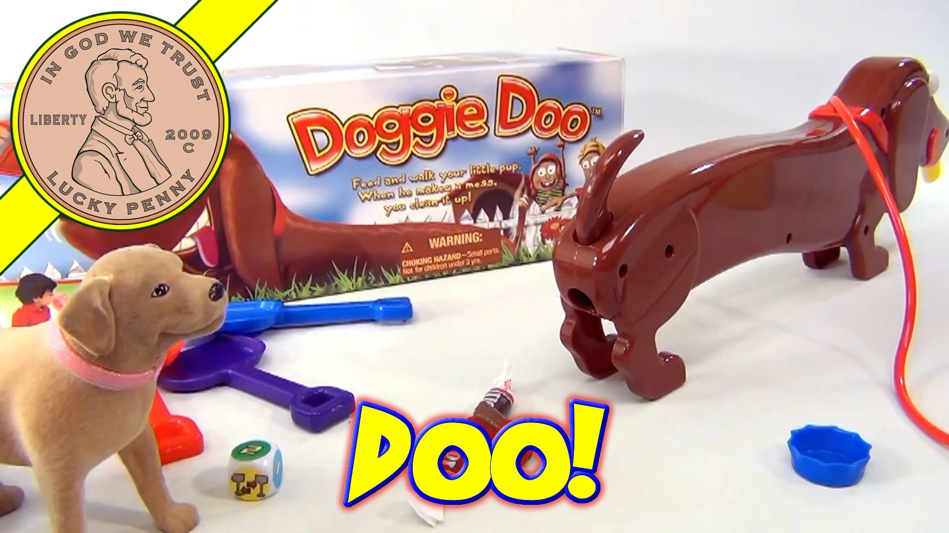 Doggie Doo The Pooping Dog Game, Goliath Games